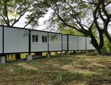 Prefab Modular Homes Shipping Container House for Office / Accommodation for Sale