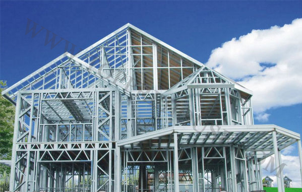 TOPPRE-90% recycle material light steel house